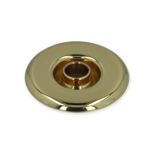 Jet Escutcheons w/ Eyeball, Metal Polished Brass