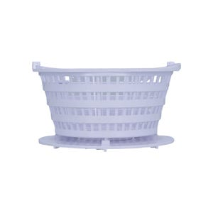 Filter Basket DFM/DFML, Lily Pad w/ Restriction, White