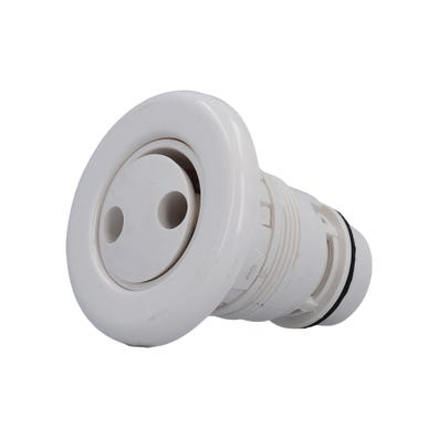 "Poly Jet Jet internal Pulsator, 3-1/2"" Face, Smooth, White"