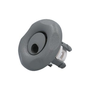 "Jet internal Whirly,2-1/2""Face, Gray,1-3/4""Hole Size"