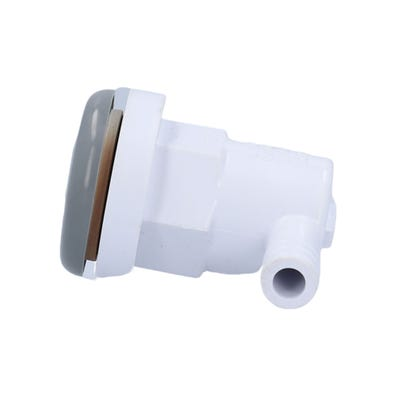 """Air Injector Complete 3/8""""RB, Ell Body, Gray"""