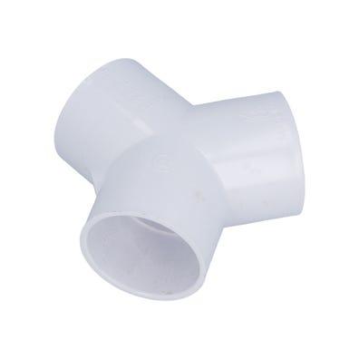 "PVC Fitting 120°, 2""S x 2""S x 2""S"