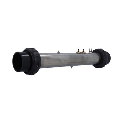 """Heater Assembly 5.5kW, 230V, 2"""" x 15""""Long, w/(1) Safety Sensor, Tailpieces"""