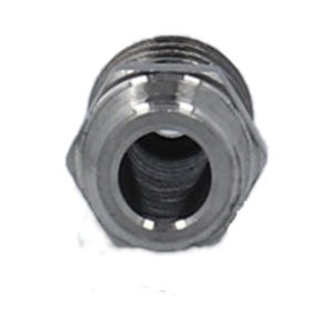 """Stainless Steel Fitting Stainless Steel, 1/8""""MPT x 3/8""""Barb"""