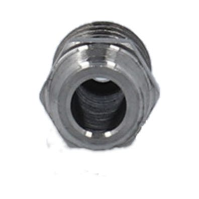 """PVC Fitting Stainless Steel, 1/8""""MPT x 3/8""""Barb"""