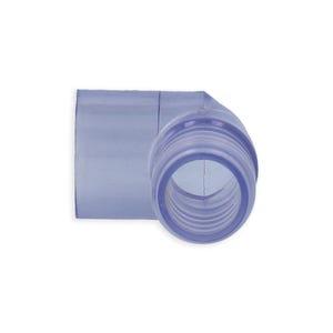 """PVC Fitting PVC, 90°, 3/4""""RB x 1/2""""S"""