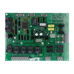 """800 Series Circuit Board 1 or 2 Pump, """"Perma Clear"""", w/Circ Pump"""
