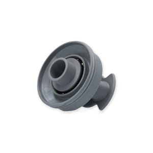 Rotary Jet internal Thread-In, Rotary, Cool gray