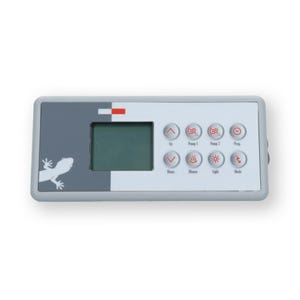 TSC-4 Electronic Keypad 8-Button, LCD, Pump1-Pump2-Blower, 10' Cable, w/8 Pin JST Plug