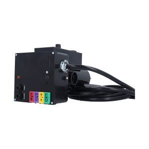 Air System Complete 120V, 1.1kW, Pump1 (120V), Blower (120V), Light (120V HOT), w/ Time Clock, w/ Molded (J&J Style) Cords & 15A GFI Cord
