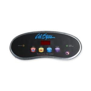 6000 Electronic Keypad 4-Button, LED, Temp-Light-Jets-Option