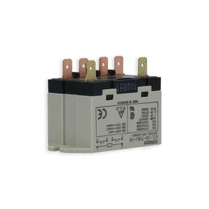 Relay DPST, 25 A, 120 Vac