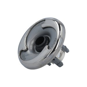 "Jet internal Directional, 2-3/4"" Face, Stainless/Silver"