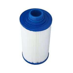 "Filter Cartridge Diameter: 4-3/8"", Length: 7-5/8"", Top: Closed, Bottom: 1-1/2"" MPT, 25 sq ft"