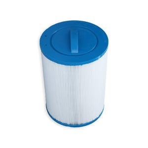 "Filter Cartridge Diameter: 6"", Length: 7-5/8"", Top: Handle, Bottom: 1-1/2"" Male SAE Thread, 40 sq ft"