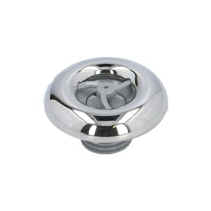 """Jet internal Directional, 2"""" Face, Smooth, Gray/Stainless Steel"""