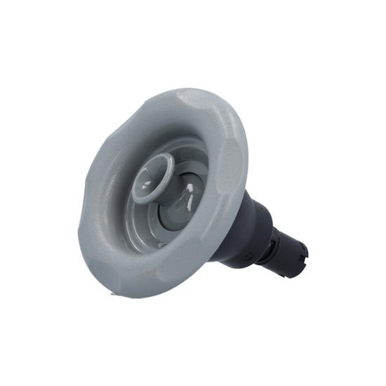"""Quantum Jet internal 5"""" Face, Screw In, Directional, Smooth, Gray"""