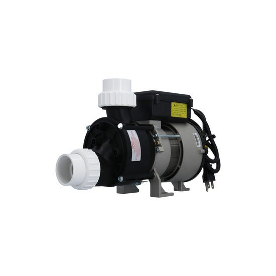 "Bath Pump Complete Front/Top, 1Spd, .5HP, 115V, 5.0A w/Air Switch, 3'NEMA Cord & 1-1/2""Unions"