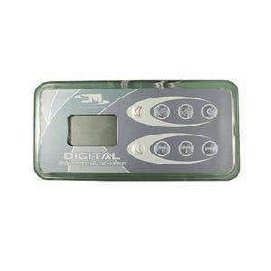 ICS-DISC Electronic Keypad 8-Button, LCD, Up-Pump1-Pump2-Light, Down-Aux1-Aux2-Prog, 10' Cable w/8 Pin Phone Plug
