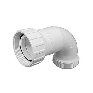 """Heater/Pump Adapter Fitting Heater to Pump Sweep, 90°, 2""""MBT x 2""""S"""
