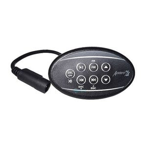 Audio Remote Control 7-Button, Power-Source-AM/FM-Track Down-Track Up-Down-Up