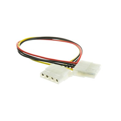"""Adapter Cord Molex to Amp Cord, 4"""" Length"""