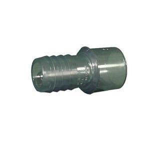 """PVC Fitting PVC, 1/2"""" s -3/4""""SPG x 3/4""""RB"""