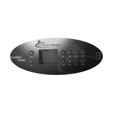 Keypad Overlay 8-Button, For 10798