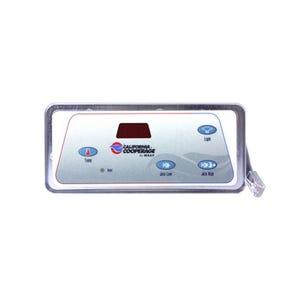 Digital Duplex Electronic Keypad 4-Button, LED, Temp-Pump Low-Pump High-Light, w/Phone Plug