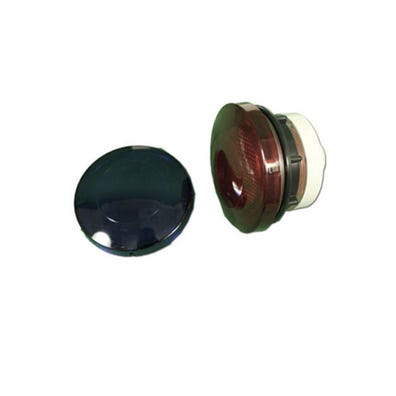 "Lens kit Rear Access, 3-1/4""Face, 2-1/2""Hole"