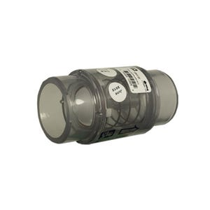 """Check Valve 1/4lb Spring, 1-1/2""""S (2""""Spg), Clear"""