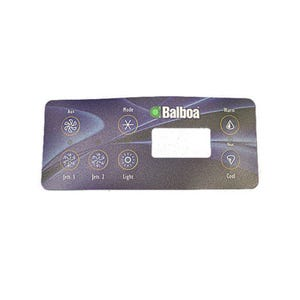 VL Series Keypad Overlay 7-Button, VL701s, For 54170