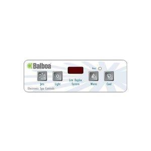 Keypad Overlay 4-Button, VL403, For 54130