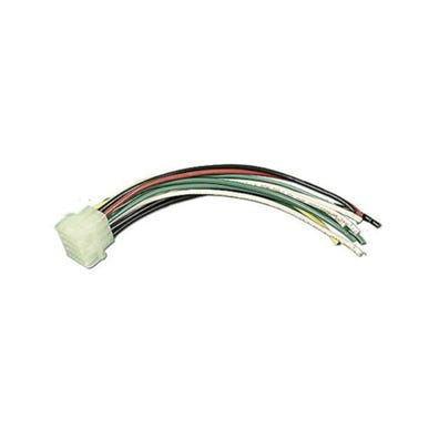 Component Cord 12 Pin Female Amp Plug w/Male Pins, w/Wires