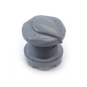 """Air Control Complete Designer Cap, 1"""", Gray"""