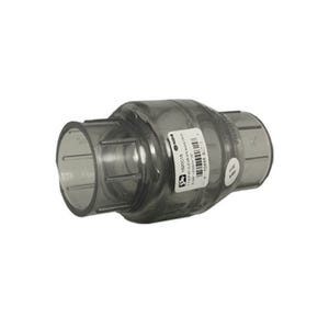 """Check Valve 1-1/2""""S x 1-1/2""""S, Clear"""
