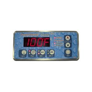 PowerMaster Electronic Keypad 7 Button, 2-Pump, 115V