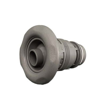 """Poly Jet Jet internal Thread-In, Directional, 3-1/2"""" Face, 5-Scallop, Gray"""