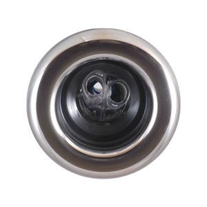 "Power Storm LED Jet internal REPLACED - Jet Internal, Waterway Power Storm, LED, Dual Rotating, 5"" Face, Smooth, Black/Stainless"