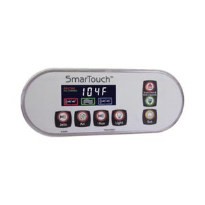 XL3020 Electronic Keypad 7-Button, LCD, Jets-Air-Aux-Light