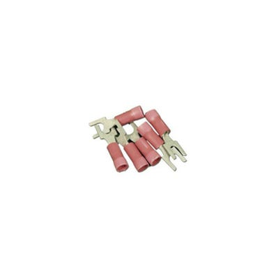 Wire Terminal 22-16 Gauge, Red, 25 Pack