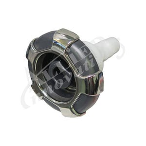 """Typhoon 300 Jet internal Directional, 3-5/8"""" Face, Crown, Stainless/Gray"""