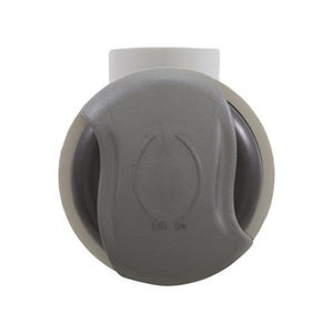 """Shut Off/On-Off Valve 1""""S, Pro-Seal, Wave Handle, Graphite/Silver"""
