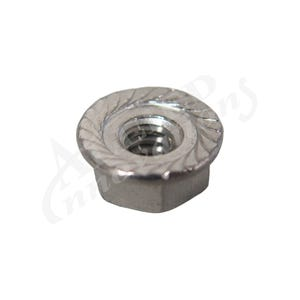 Valve Parts #10-24, Stainless, Serrated w/Flange