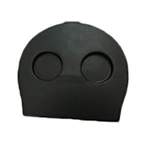 Filter Lid w/ Cup Holder, Black