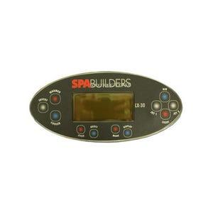 LX-30 Electronic Keypad 11-Button, LCD, Pump1-Pump2-Blower