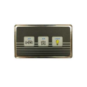 LX-20 Electronic Keypad 3-Button, Jets-Blower-Light