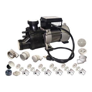 Suction Assemblies White w/0.75HP Bath Pump