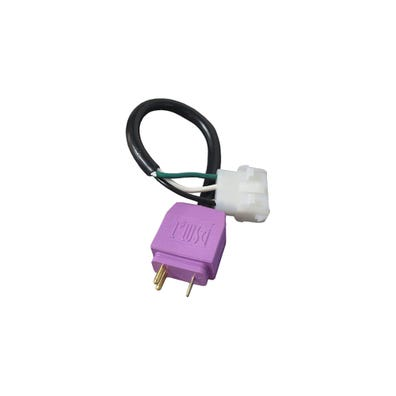 "Blower Adapter Cord 14/3, 6"" Cord, Light Violet"