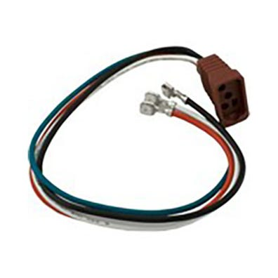 "Component Cord 4-Pin Amp to Moulded Mini J&J, 1-Speed, 6"" Length"